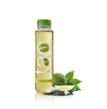 Tao Green Tea Lime Jasmine 18x330ml NEW